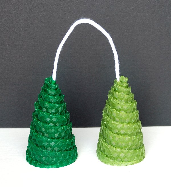 Christmas trees - double 6,7cm